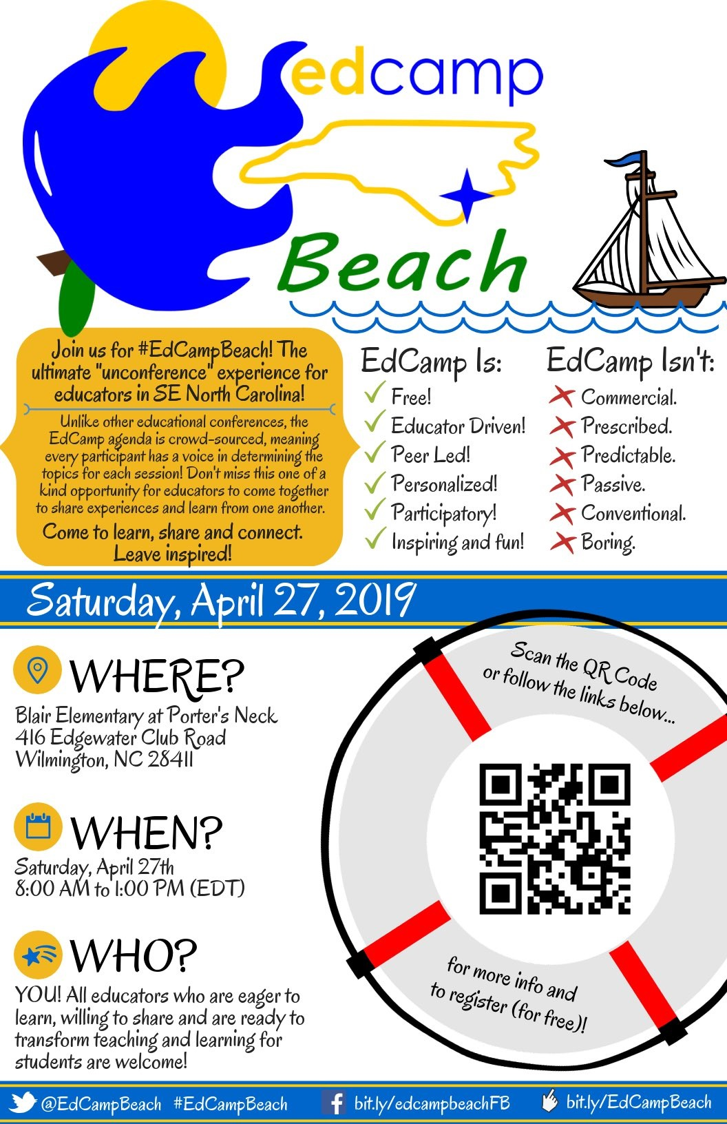 edcamp beach April 27